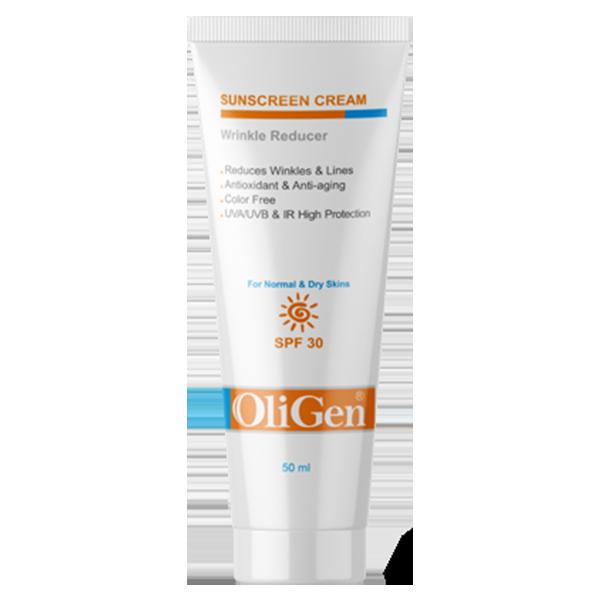 کرم ضد آفتاب با اثر ضد چروک SPF 30