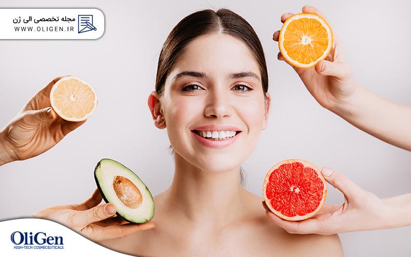 ویتامین برای پوست